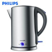 飞利浦(PHILIPS) 电热水壶 HD9319/21 家用烧水壶进口不锈钢内胆PTC保温1.7L大容量 自动断电保温