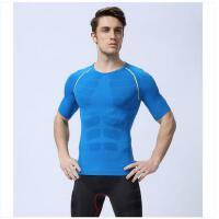 短袖紧身衣弹力薄款T恤 轻型篮球训练背心健身运动塑身衣男