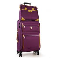 新款牛津布个性行李箱手提箱 旅行布箱 万向轮密码箱旅行箱 王仕配包