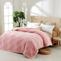 君别商场被子冬天单人加厚毛毯空调双人毯子珊瑚绒毯法兰绒午睡毯沙发床单冬季