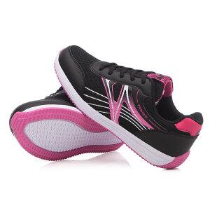 系带休闲鞋韩版健身跑步单鞋女新款透气平底运动鞋女秋