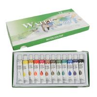 大贸商 手工DIY材料 水彩颜料 儿童绘画涂料 12色SF00494