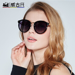 威古氏潮流防紫外线眼镜复古偏光太阳镜墨镜女士驾驶镜6112