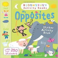 [现货]英文原版 My Opposites Sticker Activity Book 儿童图书