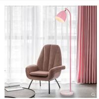 护眼落地灯简约现代北欧客厅卧室立式沙发ins网红台灯床头