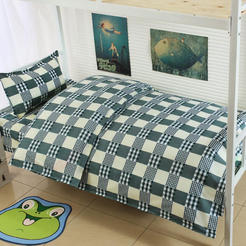 君别学生床上三件套 单人床单被套三件套宿舍被罩0.9米床上用品