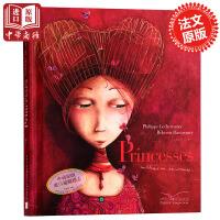 【中商原版】被遗忘的公主 法文原版 儿童读物 绘本 Princesses oubliees ou inconnues 海贝卡.朵特梅