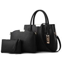 新款中年女包妈妈包包2018新款中老年欧美高端大气百搭单肩斜挎手提包
