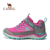 【满259减200元】camel骆驼户外女款徒步鞋 耐磨减震系带户外鞋徒步鞋