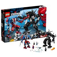 【当当自营】乐高LEGO 超级英雄系列 76115 蜘蛛侠机甲对战毒液