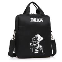 手提袋中小学生补课书包男女帆布双肩包作业美术袋儿童补习书包