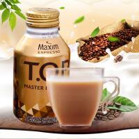 【包邮】韩国进口 东西牌T.O.P 拿铁咖啡饮料 金瓶 275ml *3瓶