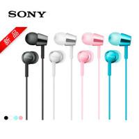 Sony/索尼 MDR-EX155AP 入耳式立体声通话 多彩耳机 通话耳机通用有线带麦耳塞式入耳式硅胶