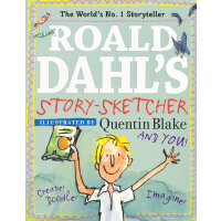 Roald Dahl Doodle Book罗尔德-达尔涂鸦书ISBN9780448481609