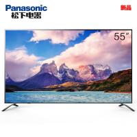 松下(Panasonic)TH-55EX600C 55英寸HDR六色4K超高清智能�W�j液晶��IPS硬屏安卓十核(黑色)