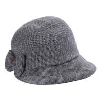 帽子女秋冬小礼帽优雅时尚渔夫帽盆帽保暖休闲呢帽