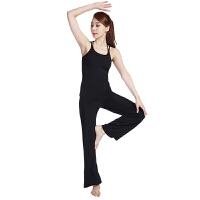 [当当自营]皮尔瑜伽(pieryoga)2018新款瑜伽服套装女跑步运动健身服修身显瘦两件套81121黑色吊带+911