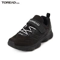 【新品4折到手�r:135元】探路者童鞋 2020春夏新品�敉�和�通款透�饩W布�\�有�QFSI85042
