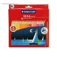 德国STAEDTLER施德楼 LUNA 137 C48 48色 水溶性彩色铅笔|送画笔