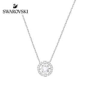 SWAROVSKI/施华洛世奇 优雅精致 跳动的心 仿水晶女士项链 白色 5286137