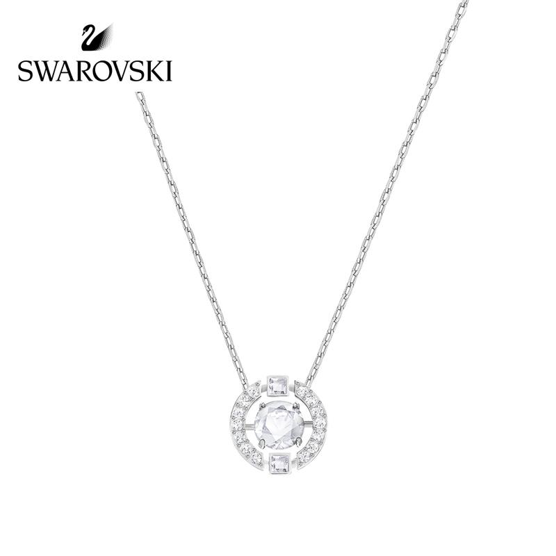 SWAROVSKI/施华洛世奇 优雅精致 跳动的心 仿水晶女士项链 白色 5286137正品保障(可使用礼品卡)