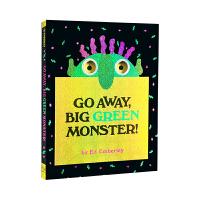 【中商原版】走开大绿怪Go Away Big Green Monster!英文原版绘本 吴敏兰