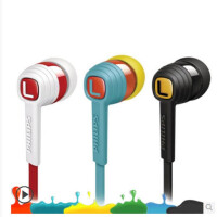 Philips/飞利浦 SHE7055耳机入耳式通用男女生手机重低音耳机面条式耳塞线控