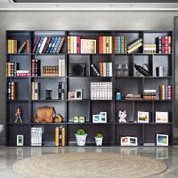 简易书架置物架简约现代柜子落地桌上书橱创意自由组合书柜格子柜