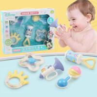 迪士尼牙胶手宝宝摇铃3-6-12个月新生婴儿0-1岁玩具礼盒