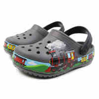 Crocs童鞋 卡骆驰2021新款 趣味学院火车小克骆格洞洞鞋 205516 趣味学院火车小克骆格