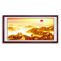 万里长城画靠山图风水画挂画客厅沙发背景墙壁画办公室装饰画