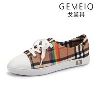 戈美其春夏季新款休闲板鞋韩版潮流百搭潮流低帮帆布鞋时尚学生鞋