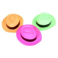 大贸商 儿童大沿帽 塑料礼帽 儿童帽子 创意饰品 AP07488