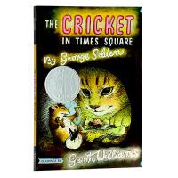 【中商原版】英文原版 The Cricket in Times Square 时代广场的蟋蟀 纽伯瑞