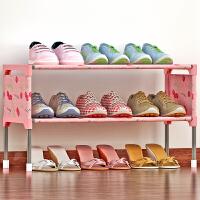 蜗家简易多层鞋架 组装防尘鞋柜简约现代经济型铁艺收纳架K123
