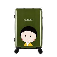 学生卡通动漫拉杆箱小清新可爱旅行箱樱桃小丸行李箱万向轮箱
