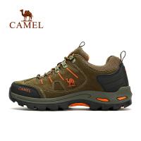 【满259减200元】camel骆驼户外情侣款徒步鞋 防滑减震舒适男女徒步鞋