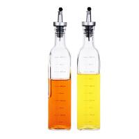 【当当自营】北斗正明 印花液体调味瓶两件套(刻度)