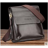 休闲背包 男士单肩包 斜挎小包韩版 竖款商务包 iPad包青年男