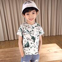 男童T恤儿童短袖中大童半袖体恤2018夏装新款韩版上衣 花色