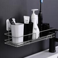 吸盘式收纳架不锈钢厨房卫生间浴室 厨卫用品置物架 化妆品