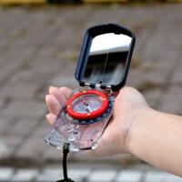 运动定向稳定坡度测量指南针 户外多功能便携定向越野指北针 体育测角度绘图地图尺
