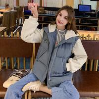 毛菇小象毛衣女秋冬外穿套头2053新款宽松圆领显瘦绑带毛针织衫