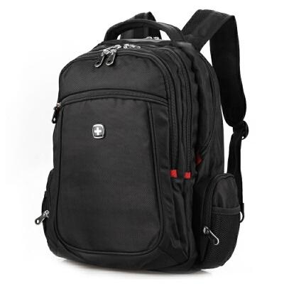 双肩包男15寸电脑包背包大容量旅行包书包学生包潮SA-007(升级款)礼品卡支付