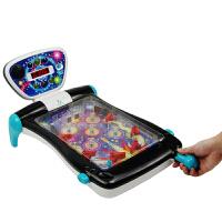 【当当自营】宝乐童益智亲子互动竞技弹珠机波仔机玩具儿童可折叠记分桌游玩具6063黑