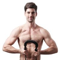 JUFIT居康 臂力器 健身器材练臂肌臂力棒JFF003AB扩胸器弹簧30KG