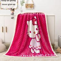 儿童盖毯珊瑚绒AB双面羊羔绒双层小毛毯宝宝午睡空调儿童毯子加厚
