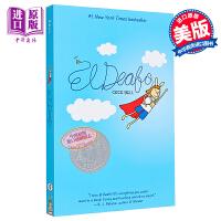 【中商原版】�~伯瑞�����迪 英文原版 El Deafo 2015年�~伯瑞�和�文�W���y�� 漫��自�餍≌f