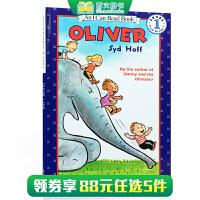汪培�E推荐阶段英文原版书单An I can read book oliver 奥利弗 Syd Hoff 悉德・霍夫 奥