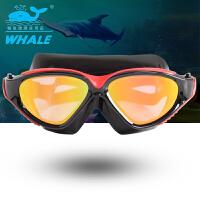 大框泳镜 游泳眼镜 男女真空镀膜 面罩